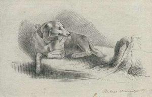 Рисунок А. С. Пушкина