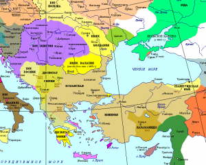 Восточная Европа XV века