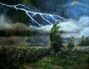 С. Бердник. Молния