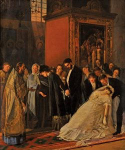 В. Пукирев. Прерванное венчание. 1877 г.