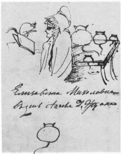 Рисунки А. С. Пушкина из его черновиков