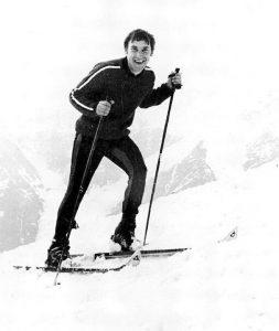 Владимир Высоцкий на лыжах