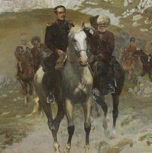 М. Ю. Лермонтов на Кавказе. Автор не установлен