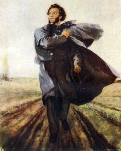 А. С. Пушкин. Неизвестный художник.
