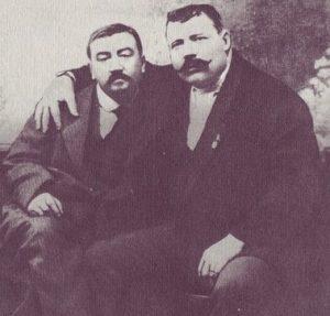 А. И. Куприн и И. М. Заикин