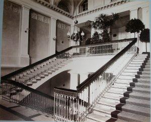 Вестибюль первой Киевской гимназии