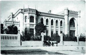 Фасад особняка Зинаиды Морозовой (примерно 1913 год)
