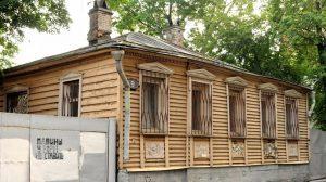 Мансуровский переулок, 9. Здесь жил мастер.