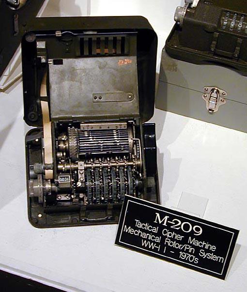 Криптография. Криптографическая машина М-209