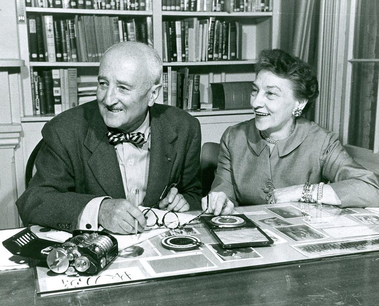 Уильям Фридман и его супруга Элизабет Смит Фридман