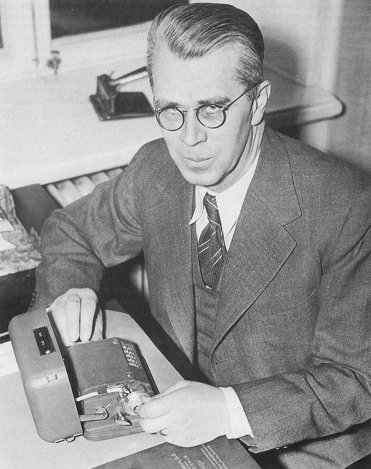 Борис Хагелин, 1940-е гг.